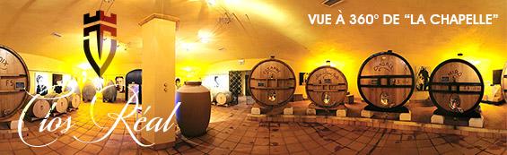 Vue 360° Chapelle Clos Réal