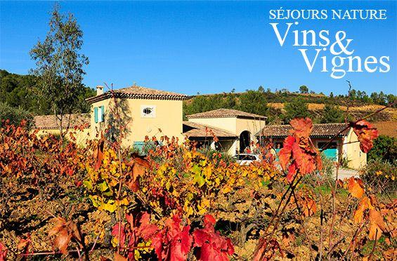 Séjour Nature Vins et Vignes dans le Var